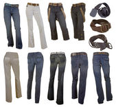 Jeans collection — Stockfoto