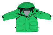 Green jacket — Stock Photo