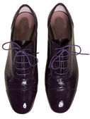 Patent leather shoes — Stock Photo
