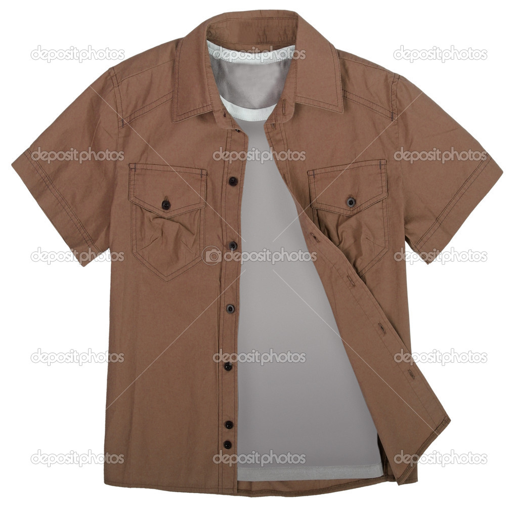 Brown shirt — Stock Photo #10510846