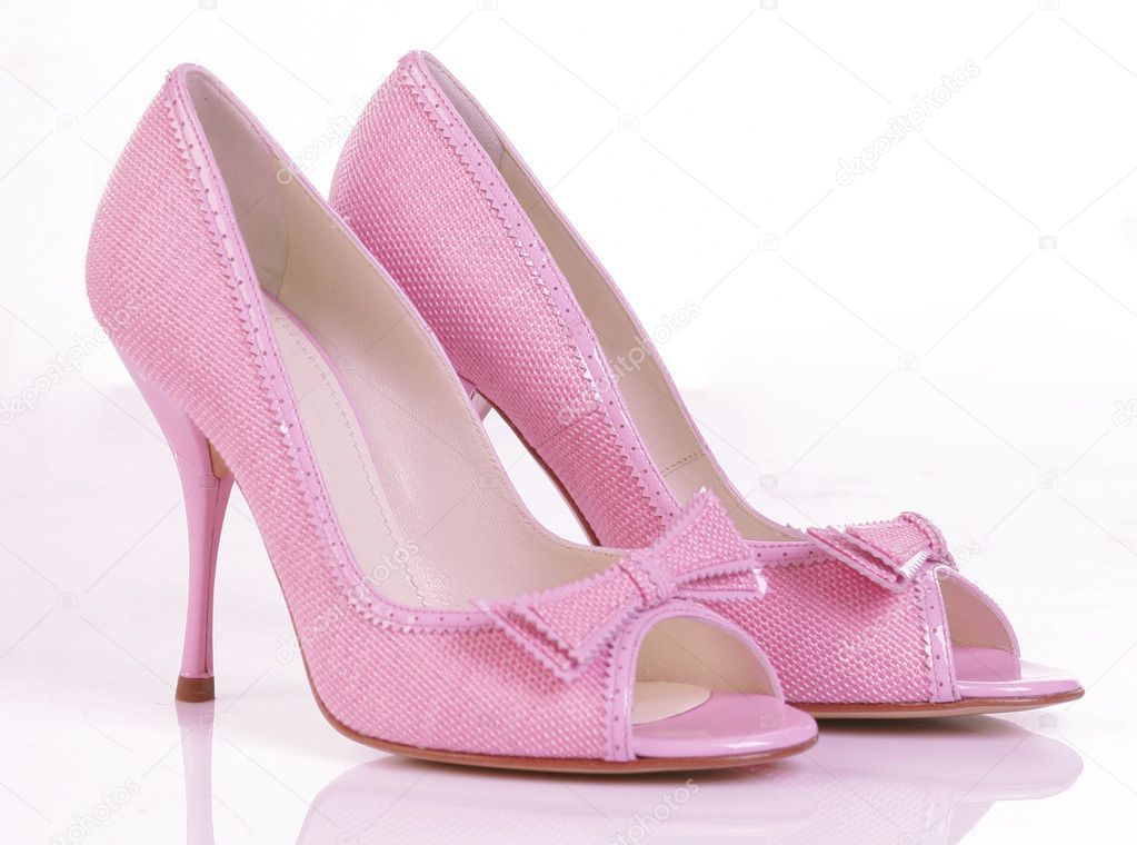 Pink shoes  Stock Photo #10510899