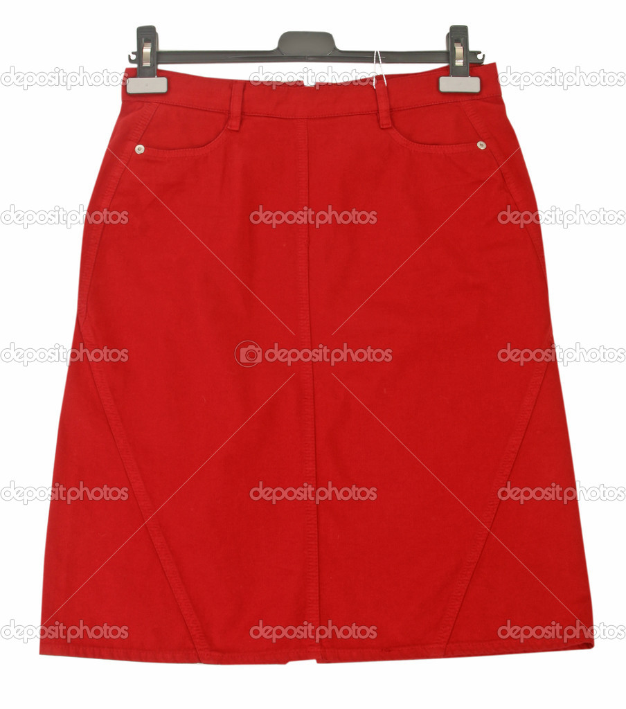 Red skirt — Stock Photo #10511226