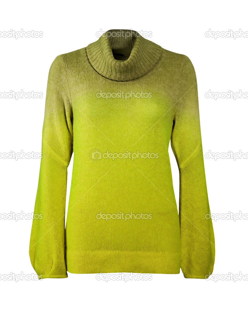 Yellow sweater — Stock Photo #10511933