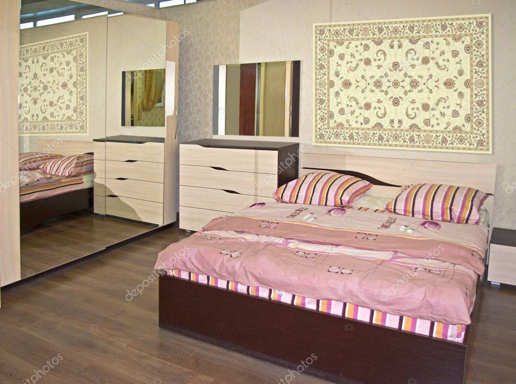 Beige bedroom  Stock Photo #10512548