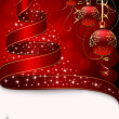 Royalty-Free Stock Imagen vectorial: Christmas tree with stars and balls