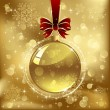 Royalty-Free Stock Vektorgrafik: Christmas bauble