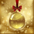 Royalty-Free Stock Vectorielle: Christmas bauble