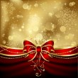 Elegant christmas bow - Imagen vectorial