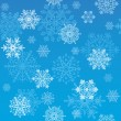 Snowflakes wallpaper — Stock Vector