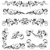 Ornate motifs — Stock Vector