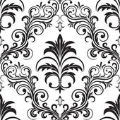 Seamless gothic wallpaper — Stock Vector