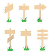 Set of signs — Stock Vector