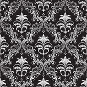 Seamless ornate wallpaper — Stock Vector
