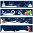 Christmas banners — Stock Vector #10545329