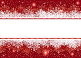 Christmas background from snowflakes and stars — Stock Vector