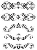 Ornamental elements — Stock Vector