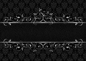 Black background — Stock Vector