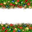 Christmas Decoration — Vector de stock #10728877