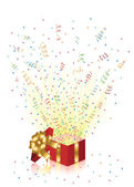 Holiday Present — Stock Vector