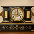 Antique luxury clock — Stockfoto