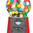 Gumball machine isolated on white with clipping path - Stock Photo