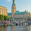 The city of Hamburg — Stock Photo