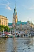 The city of Hamburg — Stock Photo