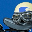 Motorcycle helmet — Stock Photo #10693332