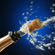 Stock Photo: Champagne bottle ready for celebration