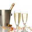 Celebration with champagne — Stock Photo #10421163