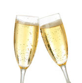 Celebration toast with champagne — Stock Photo