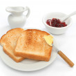 Beautiful breakfast scene — Stock Photo #10468836