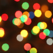 Стоковое фото: Christmas lights background