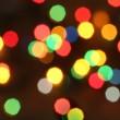 Noel ışıkları arka plan — Stok fotoğraf