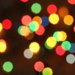 Fondo de luces de Navidad — Foto de Stock