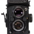 Stock Photo: Medium format camera