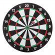 Dartboard bull´s eye. Isolated on white background — Foto de Stock