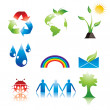 eco icons — Stock Vector #10447750