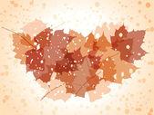 Ilustracja jesień tło. — Wektor stockowy