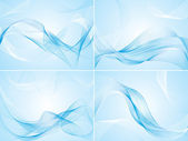 Set of abstract backgrounds — Stockvektor