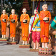 Monks statue — Stock Photo