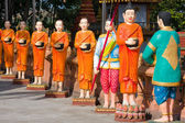 Monks statue — Stock Photo