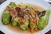 Veggie wrap — Stock Photo