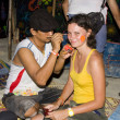 Full moon party — Foto Stock