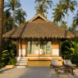 Stock Photo: Beach bungalow , Thailand .