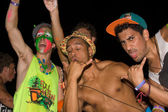 Full moon party — Stockfoto