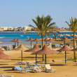 Beach in Egypt — Stockfoto #10638961