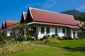 Tropical beach house — Stock Photo