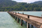 Jetty in Thailand — Stock Photo
