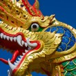 Dragon statue — Foto Stock